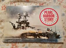 Pearl Harbor Story Paperback Book with Photos! 1973,  WWII, USN, USAF FREE SHIP