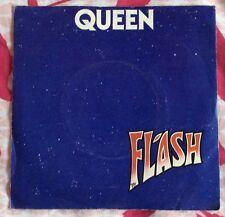 QUEEN,FLASH,RARE VINTAGE LP 45,RECORD IN GREAT CONDITION.