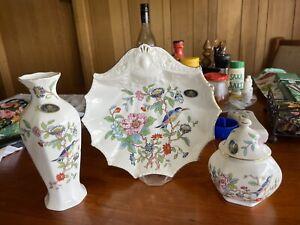 Vintage Aynsley Made In England Bone China Duchess Set EUC