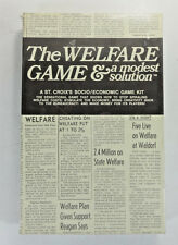 The Welfare Game & A Modest Solution by St. Croix Inc. 1971 RARE Vintage
