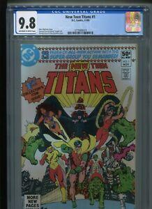 New Teen Titans #1 (1980) CGC 9.8 [OFF-WHITE/WHITE] WOLFMAN & PEREZ