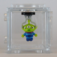 Cube-It Magnetic Figure Disney Blind Box Series 1 - TOY STORY ALIEN *GITD CHASE*