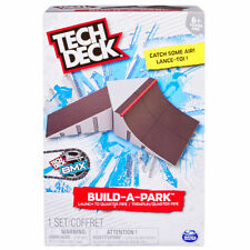 NEW TECH DECK BMX SKATEBOARDS FINGER BOARDS SKATE SK8 RAMP BUILD-A-PARK KIT