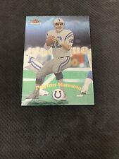New listing 2000 Fleet Mystic Peyton Manning - Indianapolis Colts Football Card #12