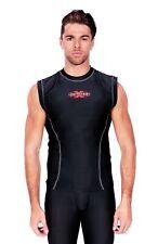 Sports Men's  Dual Compression Baselayer Sleeveless Top XL Size