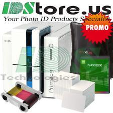 Evolis Primacy Dual Side Expert Brilliant Blue Starter ID Card Printer System
