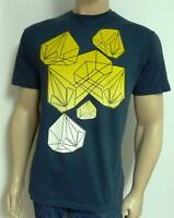 Volcom Stone Prism Graphic Tee Mens Blue T-Shirt New NWT