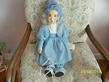 "FAIRIE GODMOTHER 23"" FELT DOLL BY SUE MALLETTE"
