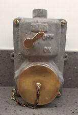 Walsall Vintage Industrial Factory Socket Power / Light Switch Steampunk Retro