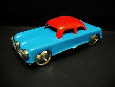 Car vintage in tinplate - made in Portugal in the 1960'S -