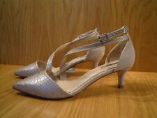Kurt Geiger Ladies Shoes Size 5 Kitten Heel Court Shoe Pointed Toe Nude Miss KG