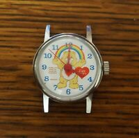 Vintage wind-up Care Bears Bradley Character Watch for Repair