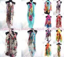 US SELLER-30 scarves wholesale lot boho long shawl wrap stole sarong beach