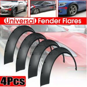 """4*3.0""""/80mm Universal Flexible Flares Car Fender Extra Wide Body Wheel Arches"""