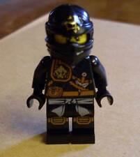 Lego Ninjago - Cole - Knee Pads Figur ( Knie Schützer schwarz Kole Col ) Neu
