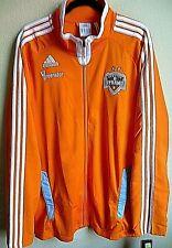 MLS Adidas Houston Dynamo Soccer Full-Zip Long Sleeve Jacket XL NWT