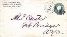 Evanston to Fort Bridger, Wyoming Territory, 1883, See Remark (21188)