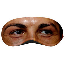 New Cristiano Ronaldo Real Madrid Footballer Eye Printed Sleeping Mask Rare!