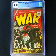 War Comics #33 (Atlas 1955) 💥 CGC 4.0 💥 ONLY 6 in CENSUS! Golden Age Comic