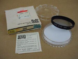Hoya B50 Type D Morn & Eve 82A filter for Hasselblad Lenses