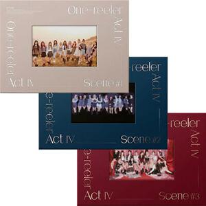 IZ*ONE ONE-REELER ACT IV 4th Mini Album CD+POSTER+Photo Book+Card+Pre-Order+GIFT