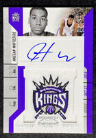 Hassan Whiteside 2010-11 Panini Contenders Rookie Ticket Patch On Card Auto RC