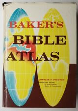 Baker's Bible Atlas Charles F. Pfeiffer 1971 Hardcover