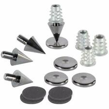 Dayton Audio DSS2-BC Black Chrome Speaker Spike Set 4 Pcs.