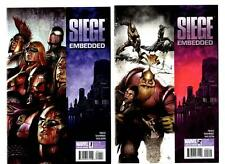 Siege: Embedded #1-4 (2010) Marvel VF/NM to NM