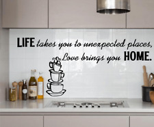 Kitchen Home Love Wall Stickers Art Dining Room Removable Decals DIY