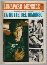 LUNAPARK MENSILE N.8 LA NOTTE DEL RIMORSO photostory fotoromanzo 1967
