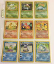 151/150 Original Pokemon Card Set - ALL HOLOS - 1st Edition Cards - Base