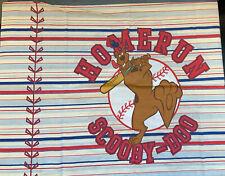 Scooby Doo Baseball Twin Standard Pillow Cases X2 Licensed Sports Linens Homerun