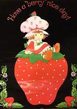 Strawberry Shortcake #14-927 (Berry Velvet) Black Light Poster