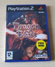 DRAGON BLAZE PS2 PLAYSTATION 2 VERSIONE PAL EUR ITALIANO COMPLETO OTTIMO RARO!!