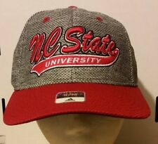 best sneakers cd0db e63c8 Adidas NC State Wolfpack Cap Flex Fit Hat Style   M859Z S M FREE SHIPPING