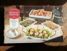 Stoneware Buffet Server 5 Piece Set