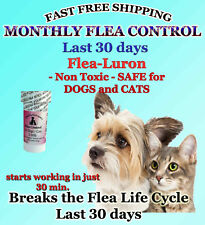 1 Year Supply MONTHLY Flea Control For DOGS / CATS 2-30Lbs.165Mg 12 Capsules NEW