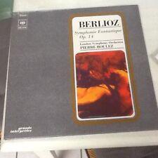 Berlioz Symphonie Fantastique Op.14 Pierre Boulez/ London Symphony Orchestra LP