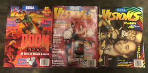 Sega Visions 3 magazine collection 1994, 1995