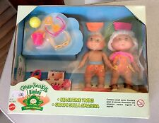 VINTAGE G2 Cabbage Patch Kids BEACHTIME BEACH TIME TWINS Playset Rare# NIB