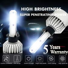 H1 CREE LED Headlight Conversion Kit 1500W 225000LM High or Low Beam 6000K Bulbs
