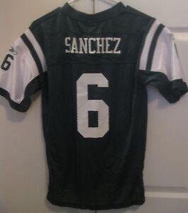 NFL New York Jets Mark Sanchez # 6 Jersey by Reebok Youth Large (14-16)