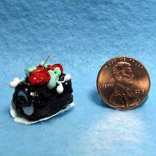 Dollhouse Miniature Yule Log Cake