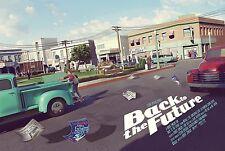 Back to the Future Alternative Movie Poster Mondo Artist Chris Skinner No. /100