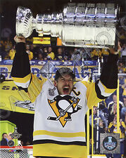 Sidney Crosby Stanley 2017 Pittsburgh Penguins Cup Champions Trophy 8x10 Photo
