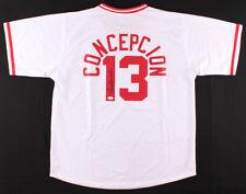 Dave Concepcion Signed Cincinnati Reds Jersey (JSA COA) 9xAll Star Shortstop