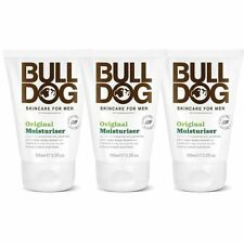 Bulldog Original Moisturiser 100ml - 3 Pack