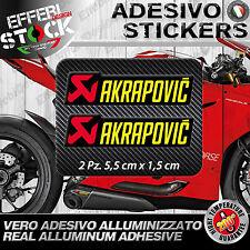Adesivo / Sticker AKRAPOVIC DUCATI 1199 1299 PANIGALE R S FACTORY 200°gradi