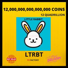 12,000,000,000,000,000 LITTLE RABBIT COINS 12 QUADRILLION LTRBT MINING CONTRACT